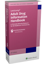 Adult Drug Information Handbook