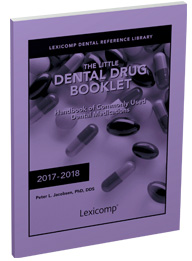 The Little Dental Drug Booklet