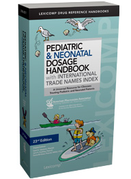 HANDBOOK PEDIATRIC DOSAGE